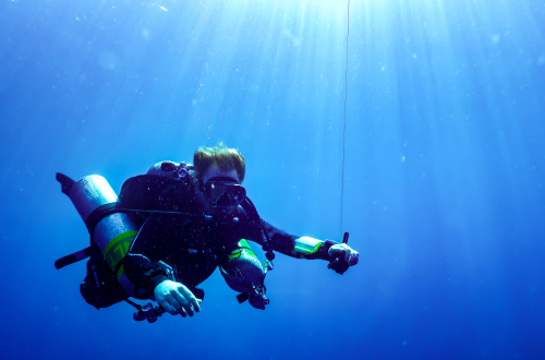 Technical diving course